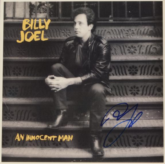 Billy Joel Autographed An Innocent Album Cover - PSA/DNA COA