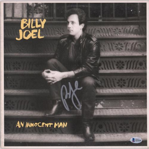 Billy Joel Autographed An Innocent Man Album - BAS