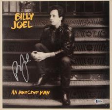 Billy Joel Autographed An innocent Man Album Cover - Beckett COA