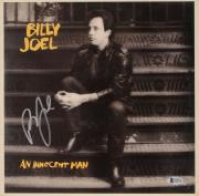 Billy Joel Autographed An innocent Man Album Cover - Beckett COA
