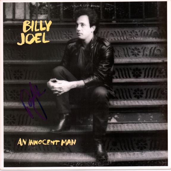 Billy Joel Autographed An Innocent Man Album - Beckett