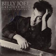 Billy Joel Autographed Billy Joel Greatest Hits Vol I & II Album Cover - PSA/DNA COA