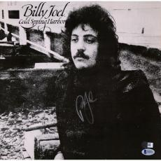 Billy Joel Autographed Cold Spring Harbor Album Cover - BAS