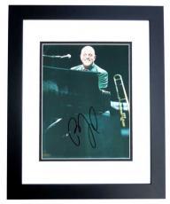 Billy Joel Autographed Concert 8x10 Photo BLACK CUSTOM FRAME