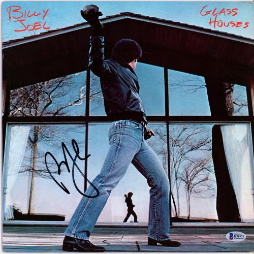Billy Joel Autographed Glass Houses Album - BAS