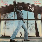 Billy Joel Autographed Glass Houses Album Cover Signed in Silver Ink - JSA COA