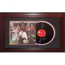 Billy Joel Autographed Music (Turnstiles) Deluxe Framed Record And Cover - JSA