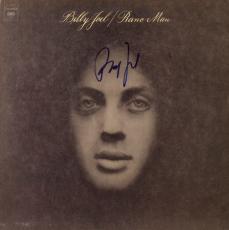 Billy Joel Autographed Piano Man Album Cover - PSA/DNA COA