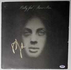 "Billy Joel Autographed ""Piano Man"" Album Signed Framed PSA DNA COA"