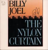 Billy Joel Autographed Signed The Nylon Curtain Album Cover AFTAL