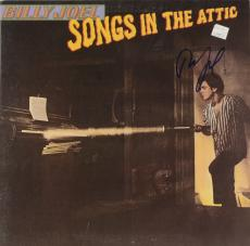 Billy Joel Autographed Songs In The Attic Album Cover - PSA/DNA COA