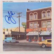Billy Joel Autographed Street life Serenade Album Cover
