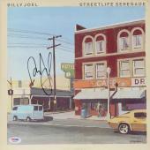 Billy Joel Autographed Streetlife Serenade Album Cover - PSA/DNA COA