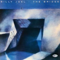 Billy Joel Autographed The Bridge Album Cover - Beckett