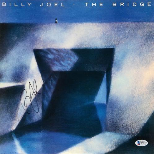 Billy Joel Autographed The Bridge Album Cover - Beckett