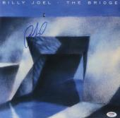 Billy Joel Autographed The Bridge Album Cover - PSA/DNA COA