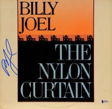 Billy Joel Autographed The Nylon Curtain Album - Beckett