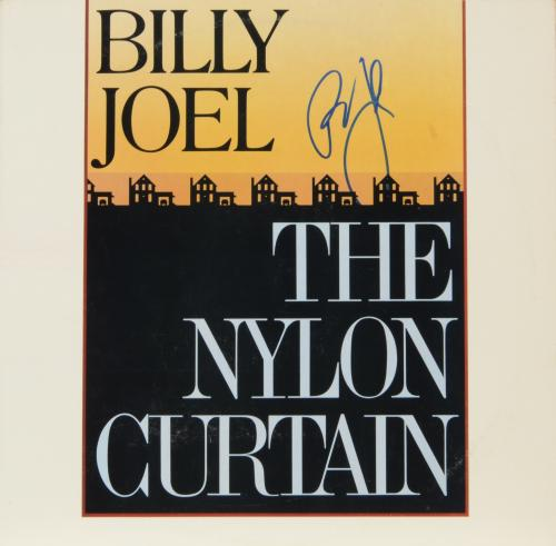 Billy Joel Autographed The Nylon Curtain Album Cover - PSA/DNA COA