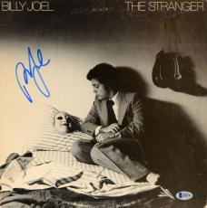Billy Joel Autographed The Stranger Album Cover - Beckett COA