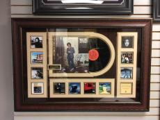 "Billy Joel Deluxe Framed, ""Autographed"" (PSA)  52nd St. Album Collage"