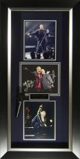 Billy Joel & Elton John Signed Piano Men Concert Display