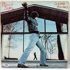 Billy Joel Glass Houses Signed Album Cover Autographed Psa/dna #x31290