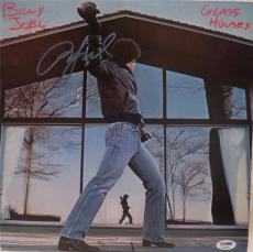 Billy Joel Glass Houses Signed Autographed Album Psa/dna S16892