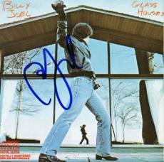 Billy Joel Glass Houses Signed Cd Cover Autographed Psa/dna #v27659