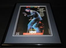 Billy Joel Live From Leningrad 1987 Framed 11x14 ORIGINAL Vintage Advertisement
