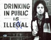BIlly Joel Musician Signed 11x14 Photo Autographed BAS #D94514