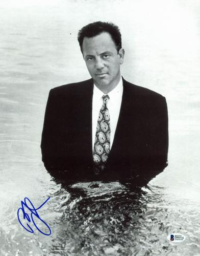 BIlly Joel Musician Signed 11x14 Photo Autographed BAS #D94516