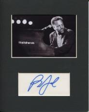 Billy Joel Piano Man Rare Signed Autograph Photo Display JSA COA
