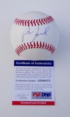 Billy Joel Piano Man Signed Major League Baseball Psa Coa Ad48375