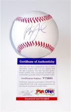 Billy Joel Piano Man Signed Major League Baseball Psa Coa V73665