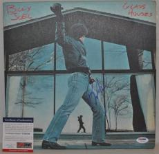 Billy Joel PSADNA Signed Autographed Glass Houses Album & LP U29326