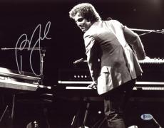 BILLY JOEL SIGNED 11x14 PHOTO THE PIANO MAN CELEBRATED MUSICIAN RARE BECKETT BAS