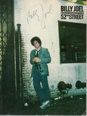 Billy Joel Signed 52nd St. Autographed Music & Lyrics Book PSA/DNA #AB96774