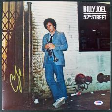Billy Joel Signed '52nd Street' Album Cover PSA/DNA #AB62004