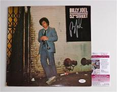 Billy Joel Signed 52nd Street Record Album Jsa Coa G99416
