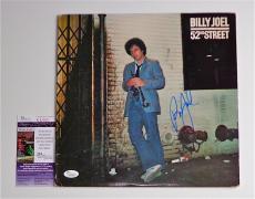 Billy Joel Signed 52nd Street Record Album Jsa Coa K42300