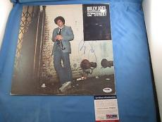 Billy Joel Signed 52nd Street Signed Record Album Cover PSA DNA COA Autograph