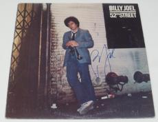 BILLY JOEL SIGNED 52nd STREET VINYL ALBUM LP AUTHENTIC AUTOGRAPH COA