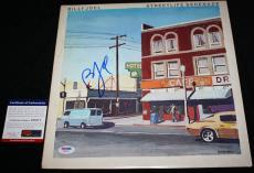 Billy Joel signed Album, Streetlife Serenade, Piano Man, 52nd Street, PSA/DNA