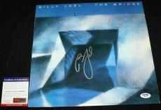Billy Joel signed Album, The Bridge, Piano Man,52nd Street,Glass Houses,PSA/DNA