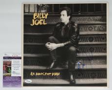 Billy Joel Signed An Innocent Man Record Album Jsa Coa K42299