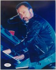 BILLY JOEL SIGNED AUTO JSA DNA 8x10 PHOTO PIANO MAN E92290