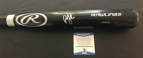 Billy Joel Signed Auto Rawlings Baseball Bat Beckett Bas 2 The Piano Man