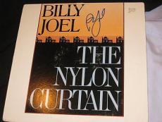 Billy Joel Signed Autograph Album Nylon Curtain Coa B
