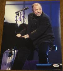"Billy Joel Signed Autograph Classic ""piano Man"" Stage 11x14 Photo Psa/dna W94462"