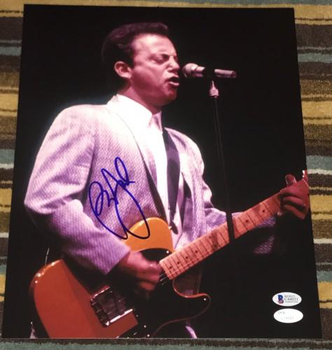 Billy Joel Signed Autograph Rare On Stage With Guitar 11x14 Photo Jsa Beckett